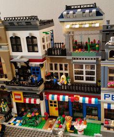 Lego Store, Lego Modular, Used Parts, 2nd Floor, Lego City, Arcade Games, Deli, Starters, Diorama