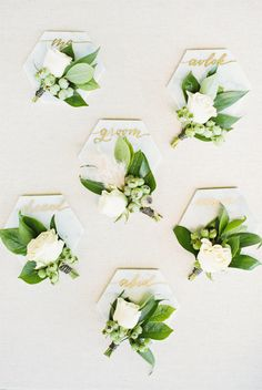 Boutonnieres | Photography: Birds of a Feather Photography