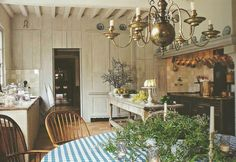 French Rustic Charm.....La Cuisine! For More French Inspired Decor Ideas, Go to thefrenchinspiredroom.com