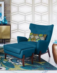 Home | Room of the Season | Lindstrom Accent Ottoman | Hudson's Bay