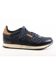 toffe Woden Sneakers blauw