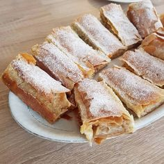 Strudel, Sweets Recipes, Cake Cookies, Apple Pie, French Toast, Muffins, Sandwiches, Food And Drink, Ice Cream