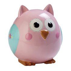 OWL Piggy Bank   SK101 Ceramic Owl Bank - $26.00 : 4 Kidz Partyz: Personalized Party ...