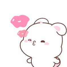 Cute Bunny Cartoon, Cute Cartoon Images, Cute Couple Cartoon, Cute Love Pictures, Cute Love Gif, Cute Love Cartoons, Cute Cartoon Wallpapers, Kiss Animated Gif, Hug Gif