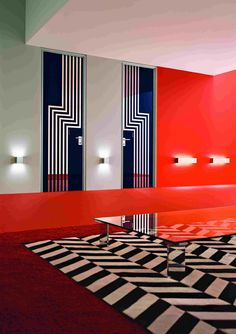 It's like an art deco version of the Black Lodge from Twin Peaks.