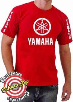 Camiseta Estampada motos Yamaha. - comprar online