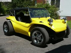 A VW Manx Dune Buggy! Will have one, one day!