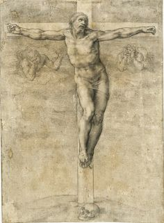 Miguel_Angel_Crucifixion_drawing