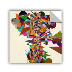 ArtWall ArtAppealz Allan Friedlander 'Atherton' Removable Wall Art