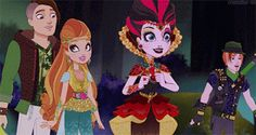Hunter Huntsman, Ashlynn Ella, Lizzie Hearts, & Sparrow Hood