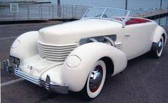 """1937 Cord 812 Supercharged Phaeton."" E.L. Cord became a Nevada guy. AK"