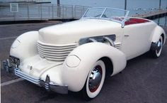 """1937 Cord 812 Supercharged Phaeton."" E.L. Cord became a Nevada guy. AK"
