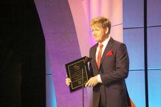 Celebrity chef Gordon Ramsey, whose Shark Bait won Best TV Documentary.