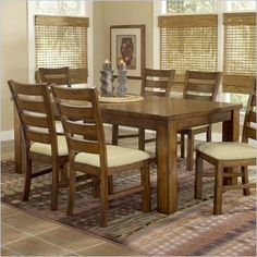 Hillsdale Hemstead Dining Table with Removable Leaf - The Hillsdale Hemstead Dining Table will bring a touch of rustic Italian country charm into your home. It features impressive square legs with a removable leaf for added functionality. With a traditional farmhouse charm, this dining table will create a warm and inviting atmosphere.