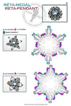 מדריכים להכנת תכשיטים, הדרכות איסוף מקום: תליון Reta - אווה