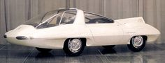 http://chicerman.com  carsthatnevermadeit:  Ghia Selene II Dream Car Concept 1962. A futuristic prototype whose driver sat in a centrally-located seat steering via an aircraft-style yoke. The passengers sit behind the driver facing rearward looking at a television screen  #cars