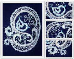 V. Cepáková - Bude zima, bude mráz Lace Design, My Design, Doodle Inspiration, Bude, Lace Making, Bobbin Lace, Artsy Fartsy, Projects To Try, Playing Cards