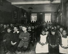 Jacob Riis, Industrial School in West 52nd Street Children's Aid Society, New York, c. 1894