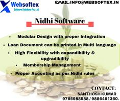 Nidhi Company is a non-banking financial business structure. Nidhi Company performs the functions of lending and borrowing of money within its members.Nidhi Company Banking Software is a online application used all over India. Nidhi software is best for managing all kind of member management activity ,deposit account activity, term deposit account activity and credit or loan account activity. #nidhisoftwarecompany #nidhisoftwareapplication #nidhisoftwaretechnology #nidhisoftwarefeatures Saving Bank Account, Banking Software, Core Banking, Trial Balance, General Ledger, Secured Loan, Savings Bank, Financial Statement, Car Loans