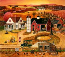 Americana landscapes by renowned painter Bob Pettes.