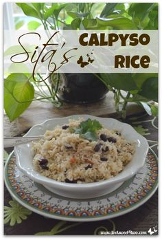 Sita's Calypso Rice - visit www.tootsweet4two.com for the recipe.