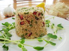 pomegranate couscous salad