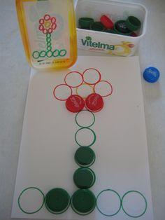 figuur naleggen volgens kleuropdracht