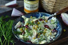 sałatka śledziowa z groszkiem Sprouts, Potato Salad, Cabbage, Food And Drink, Potatoes, Vegetables, Cooking, Ethnic Recipes, Blog