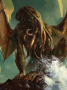 Fantasy Flight Games [Fantasy Flight Supply - Products] - Leading publisher of board, card, and roleplaying games. Hp Lovecraft, Lovecraft Cthulhu, Aliens, Cthulhu Art, Lovecraftian Horror, Eldritch Horror, Dark Fantasy Art, Fantasy Rpg, Animals