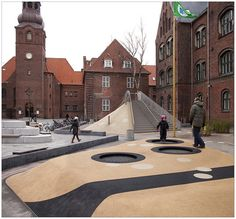 Guldberg Skole, JJW Architects, 2009. Nørrebro, Copenhague. Love this