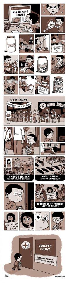 Typhoon Haiyan and The Next Generation [Comic] - ChurchMag