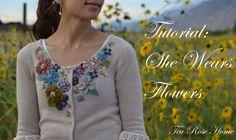 #embroideredcardigan