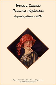 1928 Millinery Book Make Roaring 20s Flapper Hat Trims Flapper DIY Milliner Prohibition Hats