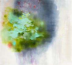 Rustle Acrylic and Oil on Linen, 153 x 137 cm  -  Marisa Purcell
