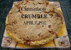 A favorite apple pie of mine over the years.