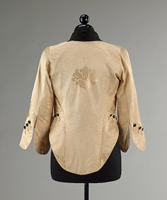 Jacket.  Callot Soeurs (French, active 1895–1937).  Designer: Attributed to Madame Marie Gerber (French). Date: 1911–14. Culture: French. Medium: silk. Dimensions: Length at CB: 26 1/2 in. (67.3 cm).