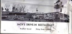 Morristown, TN - Old Picture of Jacks Drive In 1968