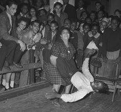 Dancing the jitterbug, Los Angeles, 1939  - dutty? lol jk