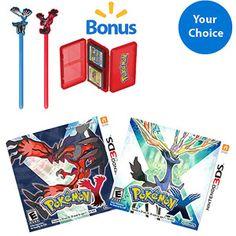 Pokemon X & Y Game with Bonus* Accessory