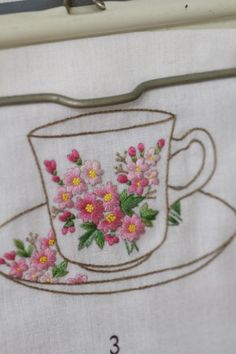 Wonderful Ribbon Embroidery Flowers by Hand Ideas. Enchanting Ribbon Embroidery Flowers by Hand Ideas. Hand Embroidery Projects, Embroidery Flowers Pattern, Embroidery Supplies, Learn Embroidery, Japanese Embroidery, Hand Embroidery Stitches, Silk Ribbon Embroidery, Cross Stitch Embroidery, Embroidery Designs