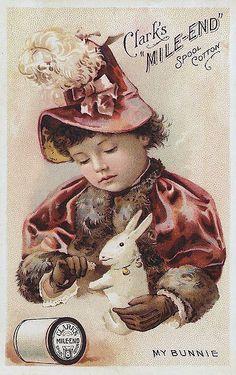 sous le signe des lapins avec ces 4 jolies publicités anciennes de la maison CLARK'S. dans ma pièce, une petite déco printanière: vitrine sur les objets anciens en nacre et délicieuse boîte à macarons je suis sous le charme de l'illustratrice japonaise...
