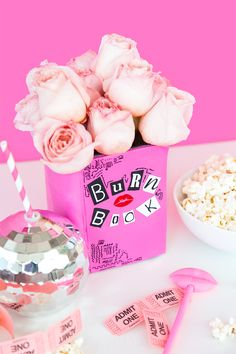 Mean Girls Party, Girls Birthday Party Themes, Girls Party Decorations, 13th Birthday Parties, Pink Birthday, Girl Birthday Gifts, Diy Bullet Journal, Ariana Grande Birthday, Mean Girls Burn Book