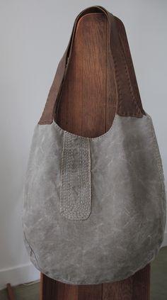 'Salt Pond' Gusset Hobo Bag