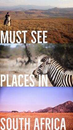 Must see places in South Africa including Cape Town, Stellenbosch, Kruger, and The Drakensberg