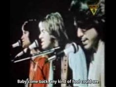 """Baby Come Back"" by Player. this video shows the band performing with the lyrics in subtitle form. music video is courtesy of www.youtube.com. I love this song! xoxo."