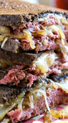 Corned Beef Grilled Cheese- the perfect grilled cheese for St. Patrick's Day.