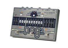 electro-harmonix HOG2 Harmonic Octave Generator Pedal by electro-harmonix. $476.21. Take your guitar tone to uncharted harmonic realms, with the electro-harmonix HOG2 harmonic octave generator effects pedal! The HOG2 creates harmonics not present in your guitar's original signal, allowing you to add anything from sub-bass two octaves down all the way to singing tones four octaves up. In all, you have mix control over ten different harmonic bands, with envelope control over high...