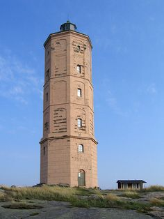 The old lighthouse (not in use any more) by MiikaS, Söderskär lighthouse, Finland, via Flickr