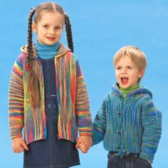 Garter Stitch Jackets http://www.allfreeknitting.com/Childrens-Knit-Sweaters/Garter-Stitch-Jackets-from-Patons