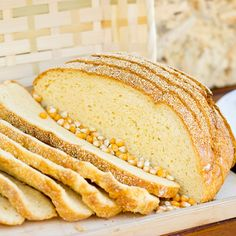 This corn bread recipe is more of a conventional loaf of bread then the cornbread recipes that you bake like a cake.. Corn Bread Recipe from Grandmothers Kitchen.